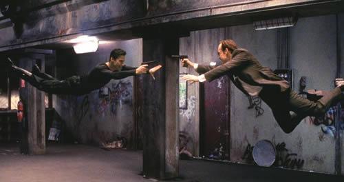 """una scena di combattimento di """"The Matrix"""". Da http://www.movieweb.com"""