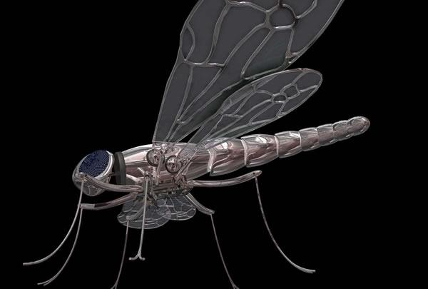 Libelula Robot (Robotic Dragonfly), Ximo Lizana (Spain)