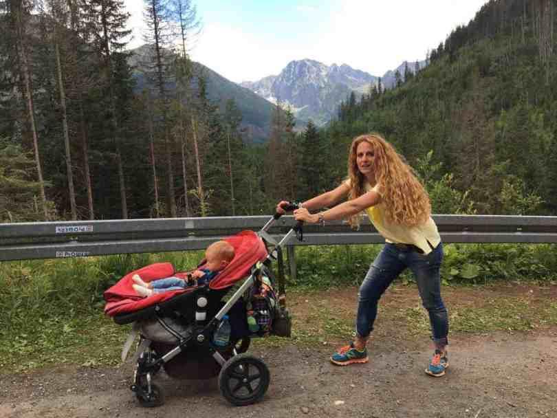 Morskie Oko szlaki w Tatrach z wózkiem