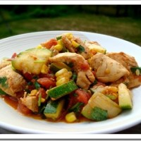 Southwest Chicken and Zucchini Sauté Recipe