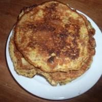 Nørrebro'ske pandekager med æg og banan