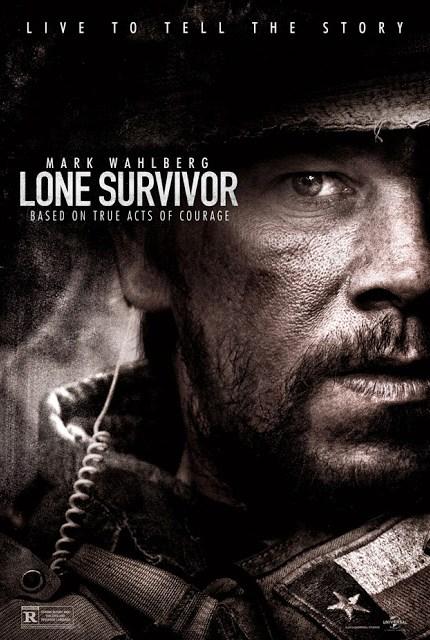 Póster y tráiler de 'Lone Survivor' con Mark Wahlberg y Taylor Kitsch