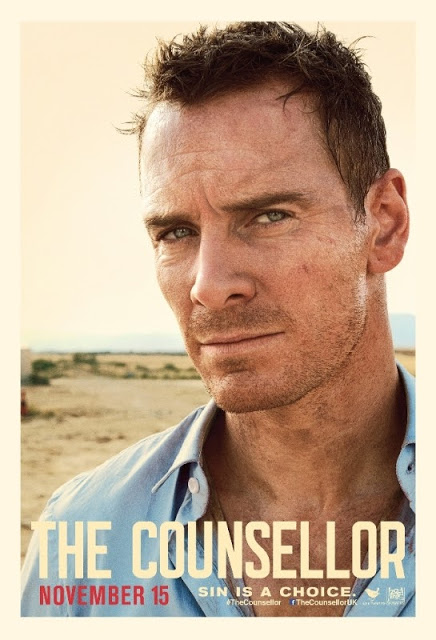Pósters individuales de 'El consejero', lo nuevo de Ridley Scott