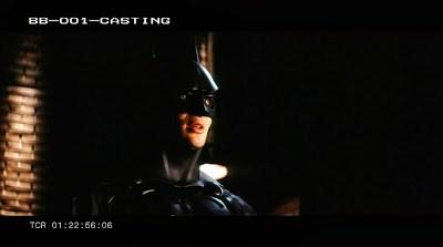 Fotos de Cillian Murphy en la prueba para ser Batman en 'Batman Begins'