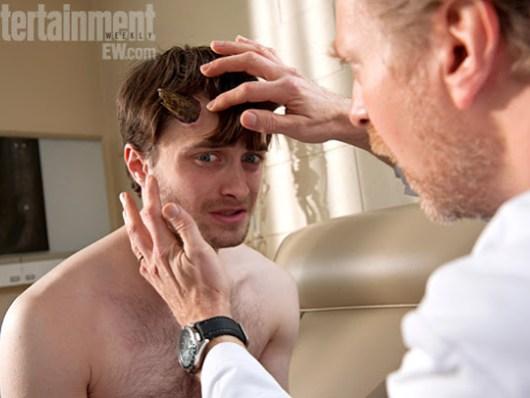 Imagenes oficiales de 'Horns' con un Daniel Radcliffe con cuernos