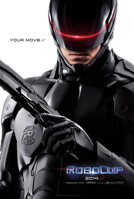 Ha llegado por fin el póster de 'RoboCop'