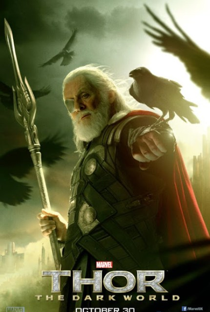Nuevos posters individuales de Loki y Odin de 'Thor: El mundo oscuro'