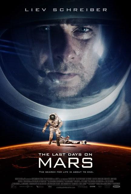 Póster de 'The last days on Mars', protagonizada por Liev Schreiber