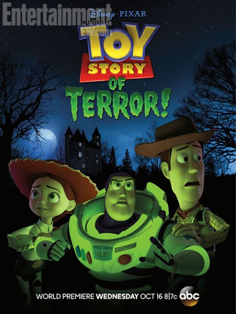Póster del especial de televisión 'Toy Story of Terror!'