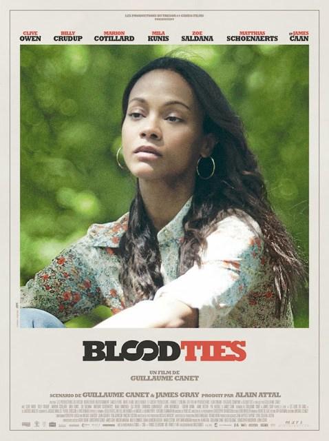 Imágenes oficiales y pósters individuales de 'Blood Ties'