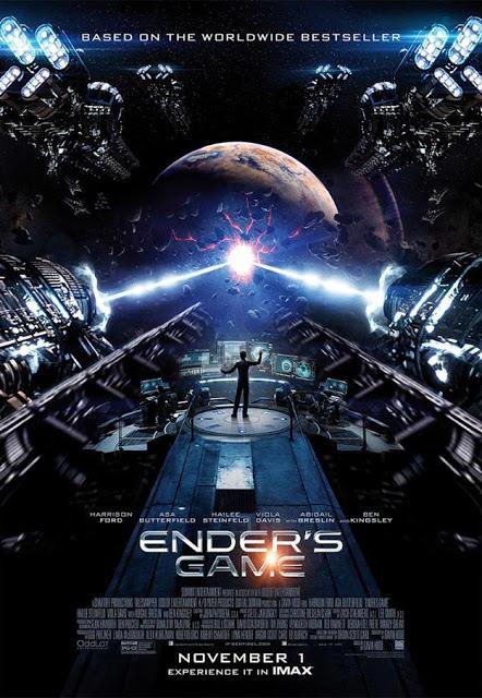 Impresionante póster IMAX de 'El Juego de Ender'