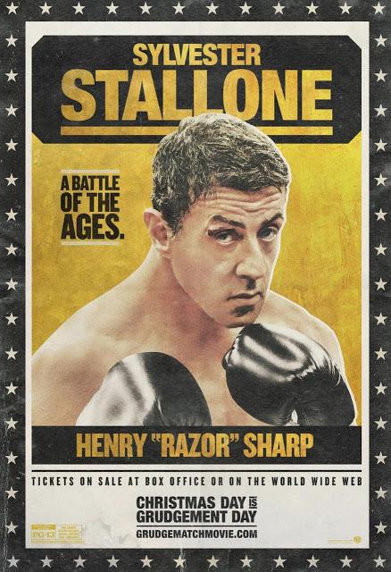 Turno para el cartel de Sylvester Stallone en 'Grudge Match'