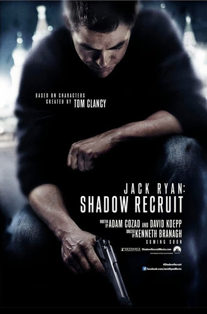 Primer póster de 'Jack Ryan: Shadow Recruit' con Chris Pine