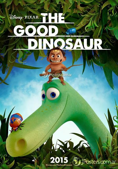 Disney•Pixar revela el primer póster de 'The Good Dinosaur' ('Los rugidos de Dinosapiens)
