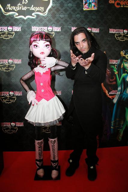 Presentación en el Museo de Cera de Draculaura de 'Monster High 13 Monstruo-deseos