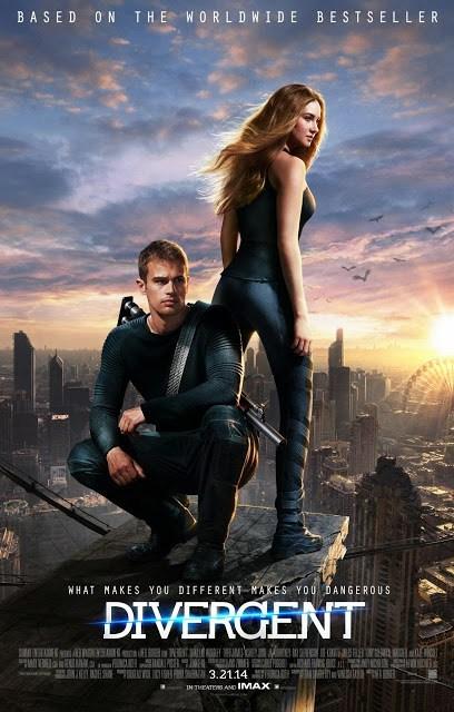 Póster internacional de la adaptación de 'Divergente'