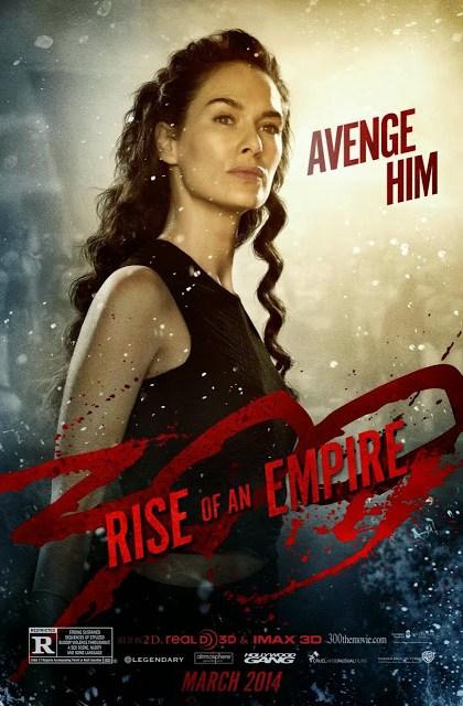 Nuevo póster de '300: El Origen de un Imperio', centrado en  Lena Heady