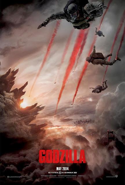 Devastador tráiler de 'Godzilla' junto con un nuevo póster y con la sinopsis oficial (Actualizado)