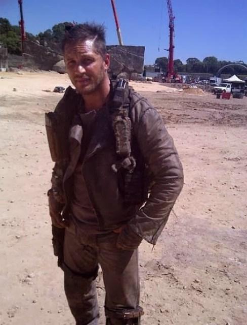 Nueva foto de Tom Hardy en 'Mad Max: Fury Road'