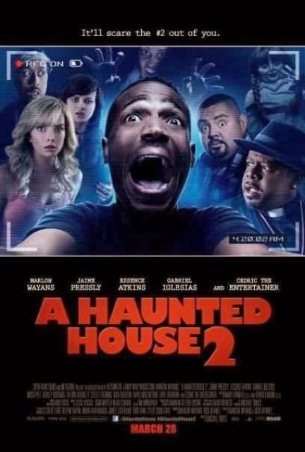 Nuevo póster de la comedia 'A Haunted House 2'