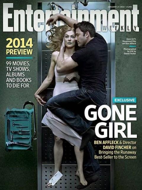 Nueva foto de 'Gone Girl' con Ben Affleck abrazado a un cadáver
