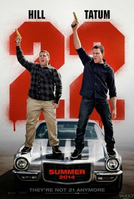 Primer póster de '22 Jump Street'