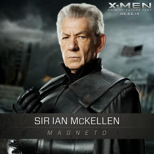 Más imágenes presentando a los protagonistas de 'X-Men: Días del futuro pasado'