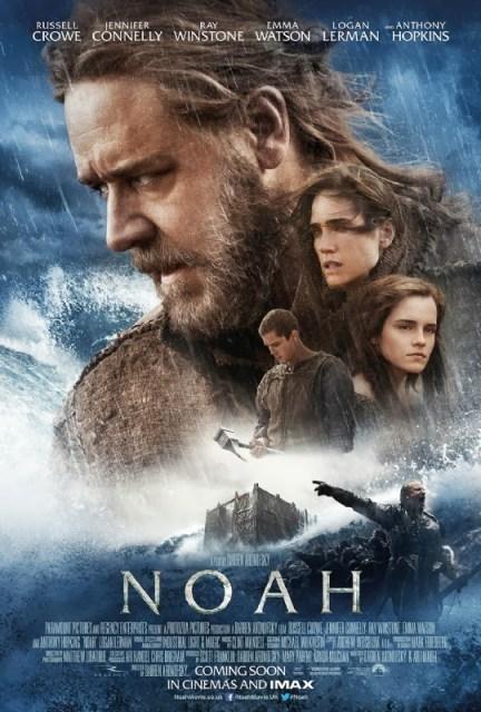 Nuevo póster internacional de 'Noé' de Darren Aronofsky