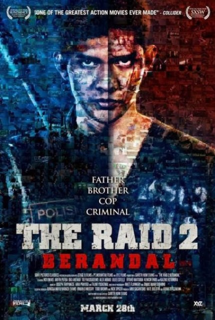 Nuevo póster, a modo de mosaico, de 'The Raid 2: Berandal'