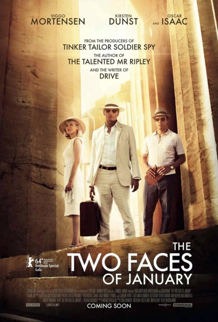Póster, tráiler y primera imagen oficial de 'The two faces of January'