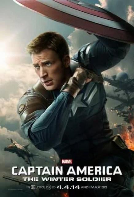 Nuevo póster individual de 'Capitán América: El soldado de invierno', con Chris Evans