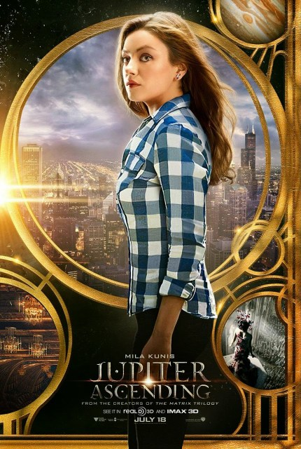 'Jupiter Ascending' ya tiene tráiler y pósters con Channing Tatum y Mila Kunis