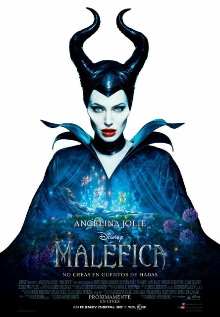 Nuevo póster de 'Maléfica' con Angelina Jolie