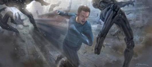 Ya se han rodado las escenas de Hulk de 'Avengers: Age of Ultron', ademas de revelarse arte conceptual