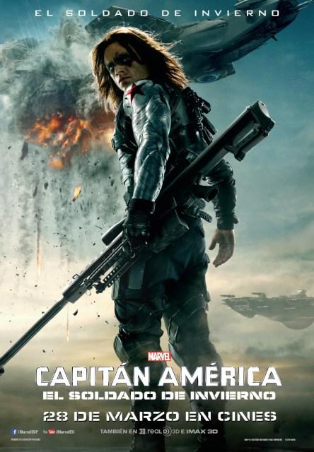 Nuevo póster individual de 'Capitán América: El soldado de invierno'