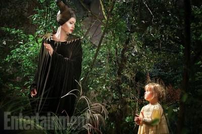 Nueva imagen de 'Maléfica', con Angelina Jolie y su hija Vivienne