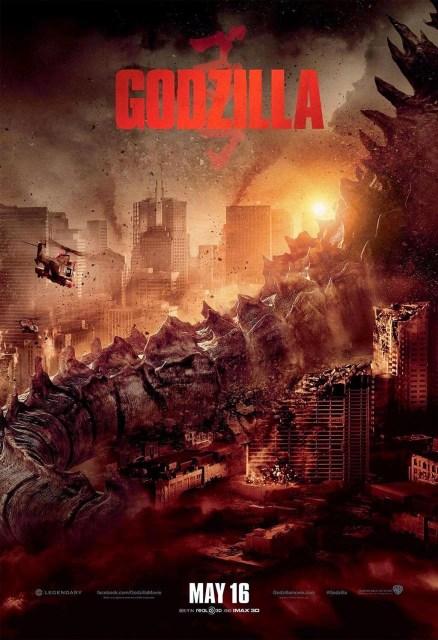 El nuevo póster de 'Godzilla' nos muestra mejor el tamaño del monstruo