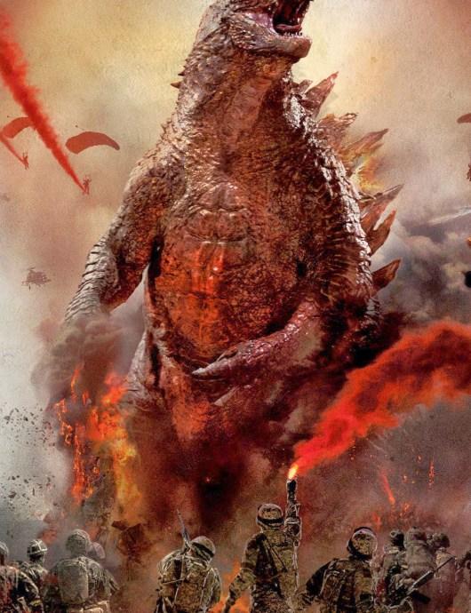 El monstruo al completo en los nuevos pósters de 'Godzilla'