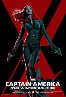 Seis nuevos pósters centrados en los protagonistas de 'Capitán América: El Soldado de Invierno'