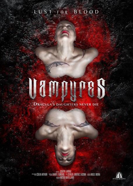 Póster de 'Vampyres', revisión del clásico 'Las Hijas de Drácula'