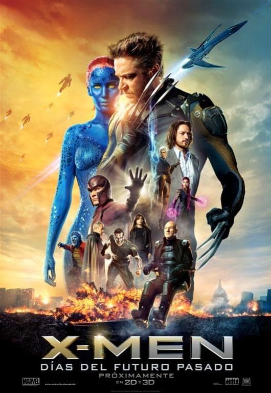 Nuevo póster oficial y nuevo tráiler de 'X-men: Días del futuro pasado'