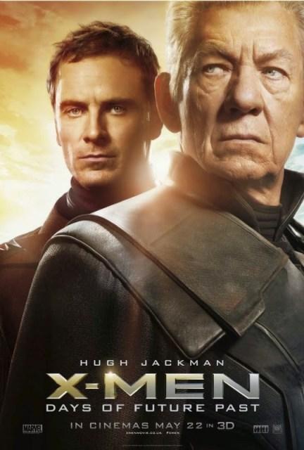 Pasado y futuro se encuentran en los nuevos pósters de X-Men: Días del futuro pasado'