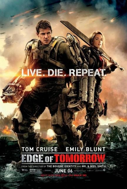 Nuevo póster internacional de 'Al Filo del Mañana' con Tom Cruise y Emily Blunt