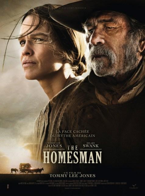 Póster y tráiler de 'The homesman', de Tommy Lee Jones