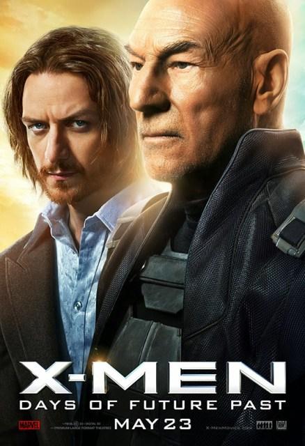Pasado y futuro se encuentran en los nuevos pósters de 'X-Men: Días del futuro pasado'