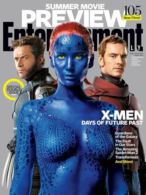 'X-men: Días del futuro pasado' acapara la nueva portada de Entertainment Weekly