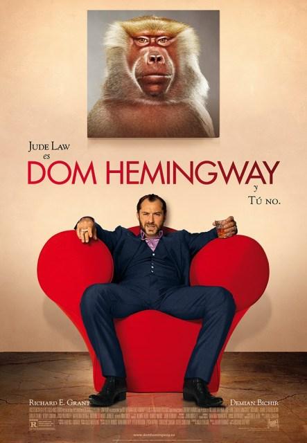 Tráiler español y póster de 'Dom Hemingway' con Jude Law