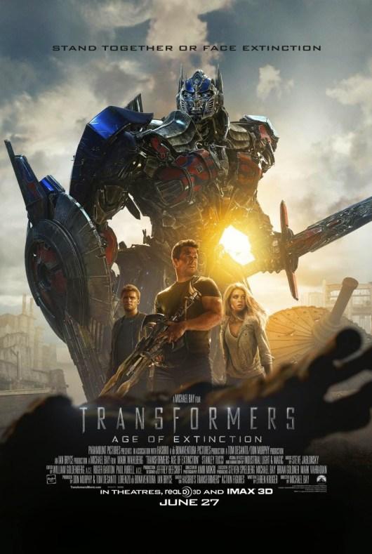 Primer tráiler español y dos nuevos pósters de 'Transformers: La era de la extinción'