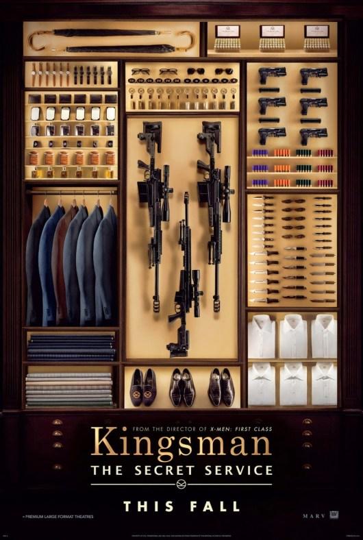 Póster, tráiler y primeras imágenes de 'Kingsman: The secret service'