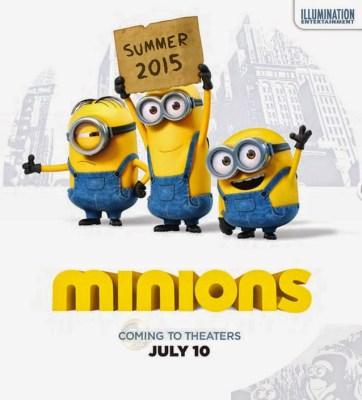 Primer téaser póster de 'Minions', el esperado spinoff de 'Gru. Mi villano favorito'